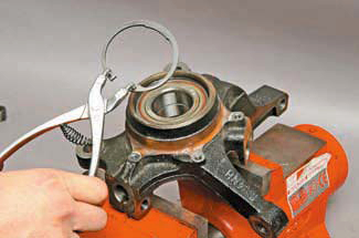 Ступичный подшипник шевроле лачетти замена своими руками